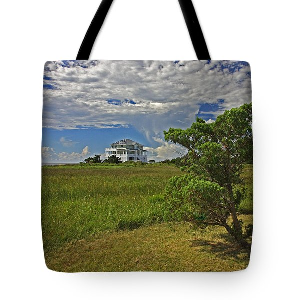 Clouds Over Hatteras Tote Bag