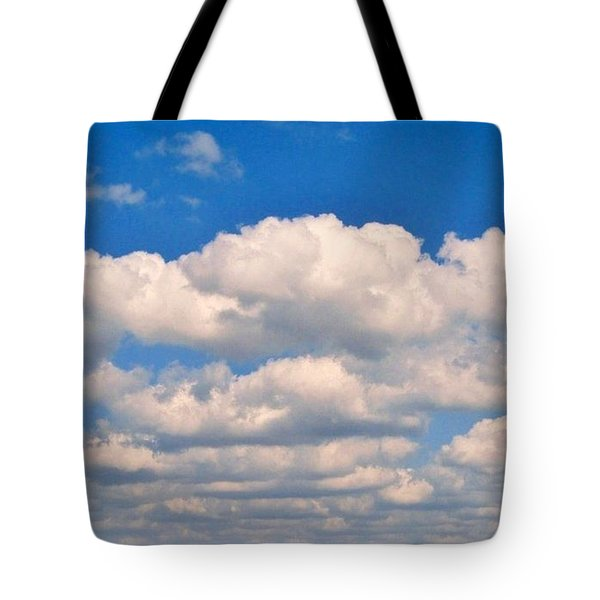 Clouds Over Lake Pontchartrain Tote Bag by Deborah Lacoste