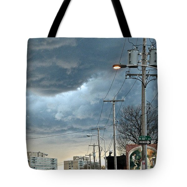 Clouds Over Philadelphia Tote Bag