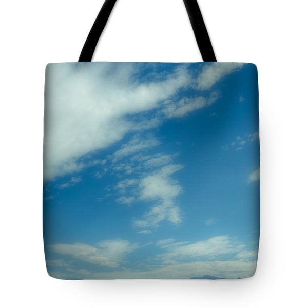 Clouds Over Priest Lake Tote Bag by David Patterson