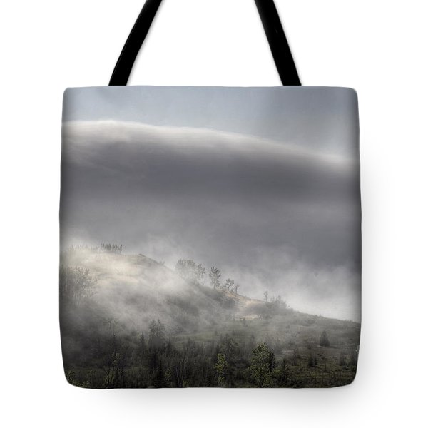 Tote Bag featuring the photograph Clouds Over Sleeping Bear Dunes 1 by Trey Foerster