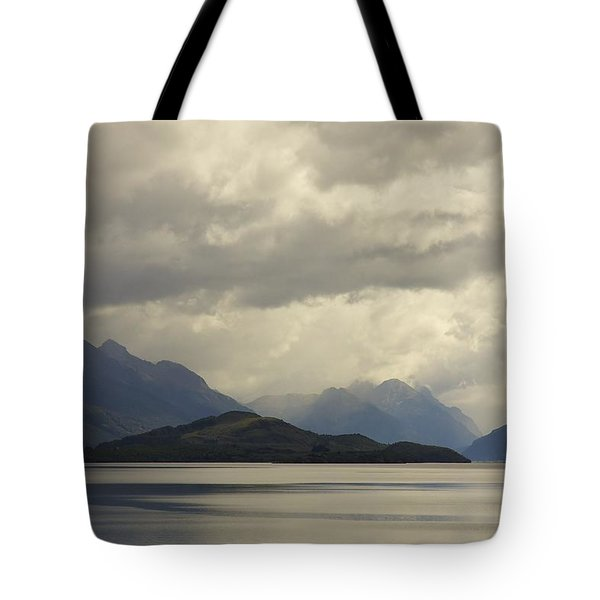 Tote Bag featuring the photograph Clouds Over Wakatipu #2 by Stuart Litoff