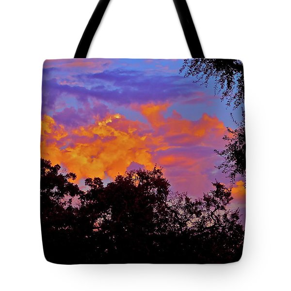 Tote Bag featuring the photograph Clouds by Pamela Cooper