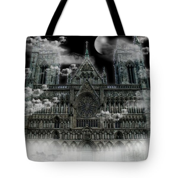 Cloudy Cathedral Tote Bag