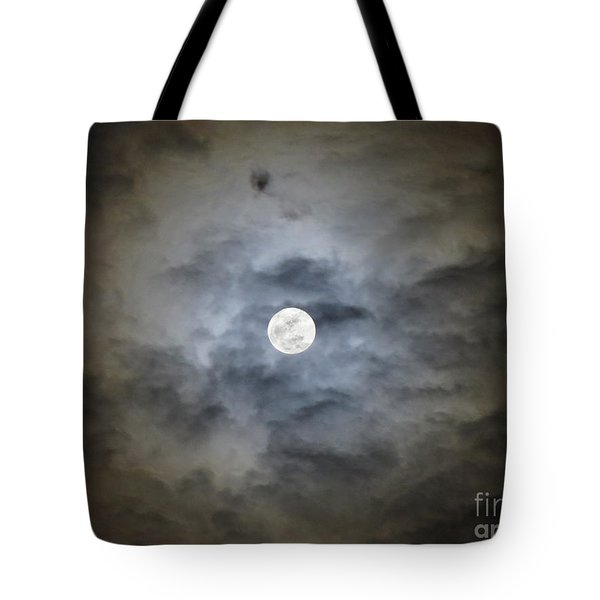 Cloudy Moon 2 Tote Bag