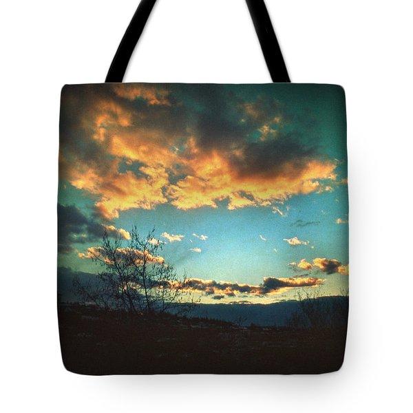 Cloudy Now Tote Bag by Taylan Apukovska