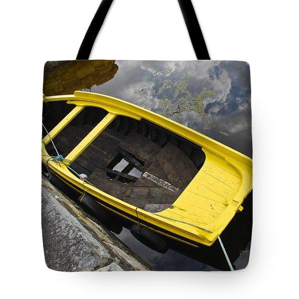Cloudy Water Tote Bag by Charlie Brock