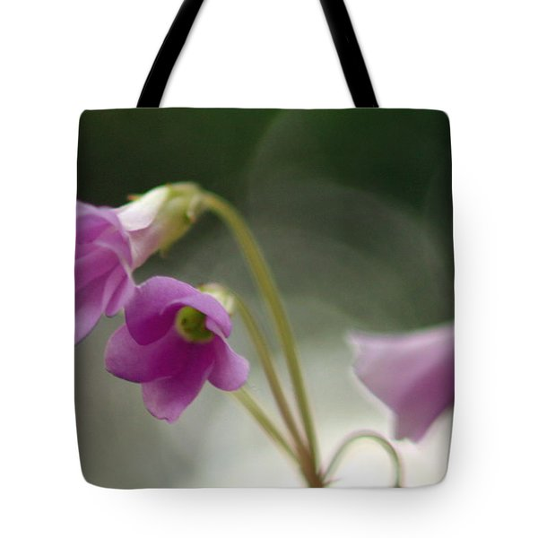 Tote Bag featuring the photograph Clover Bells by Greg Allore