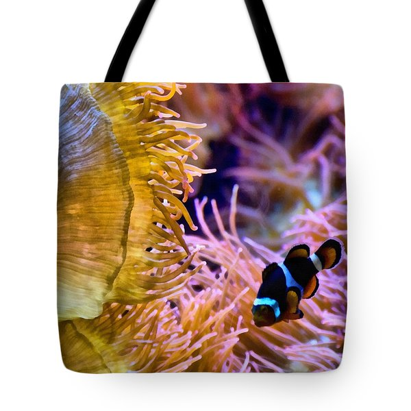 Clown Comfort Zone Tote Bag by Angelina Vick