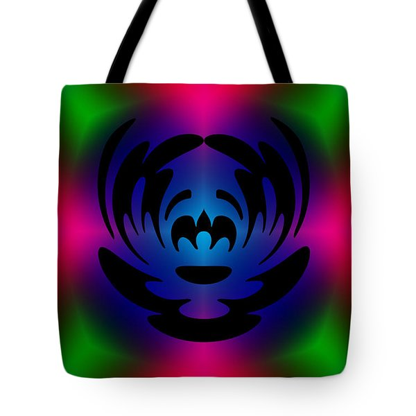 Clown In Color Tote Bag by Steve Purnell