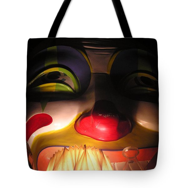Clown In The Antique Shop Tote Bag