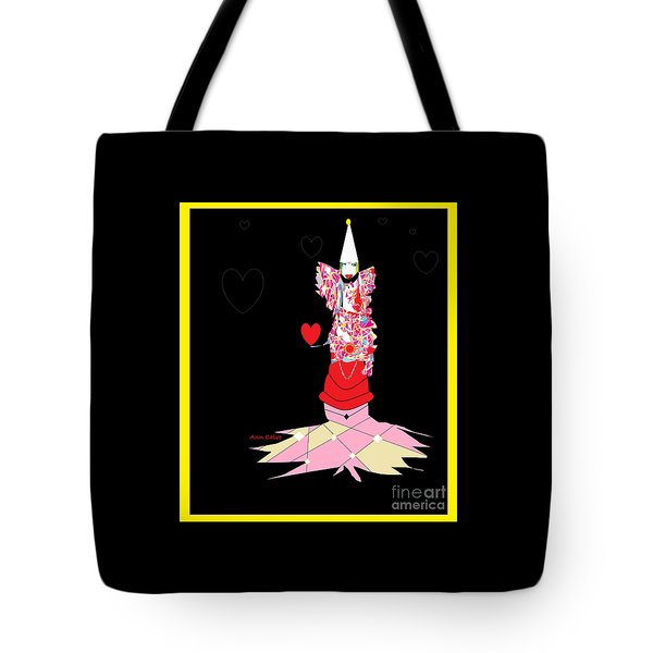 Clown Love Tote Bag