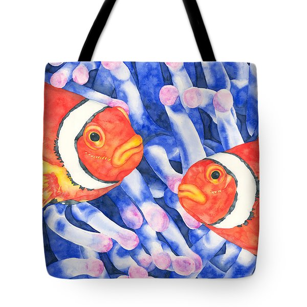Clownfish Couple Tote Bag