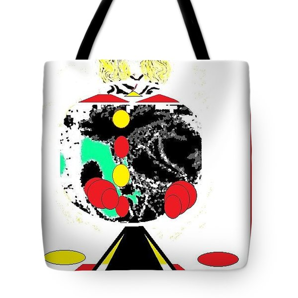 Clowning  Around 2 Tote Bag by Ann Calvo