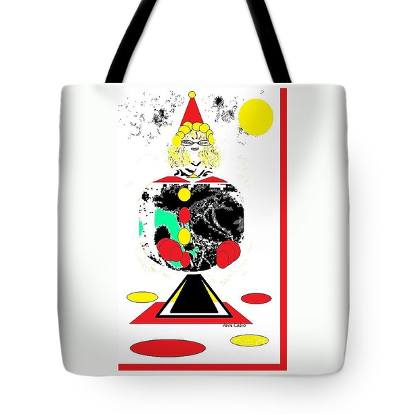Clowning  Around 2 Tote Bag