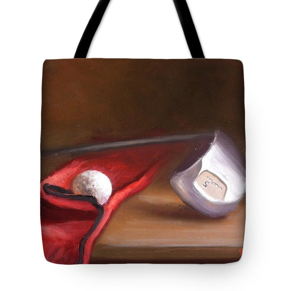 Club And Balls Tote Bag