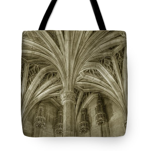 Cluny Museum Ceiling Detail Tote Bag