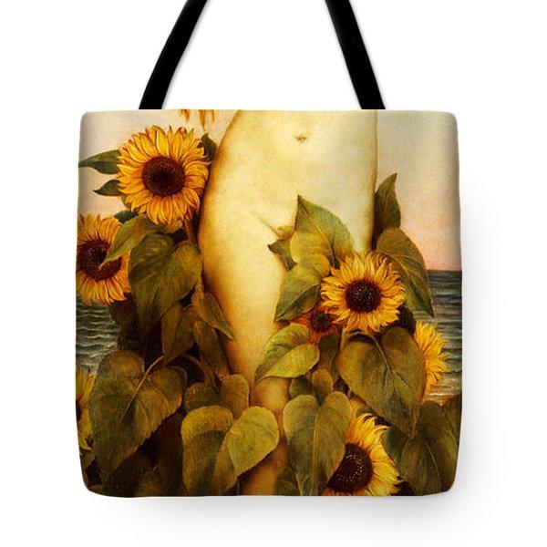 Clytie Tote Bag by Evelyn De Morgan