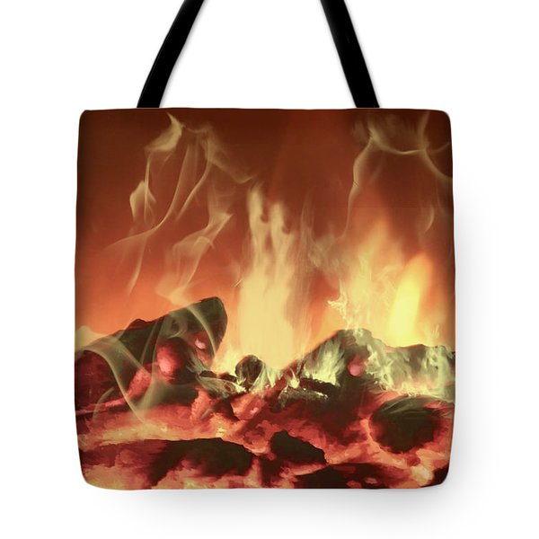 C'mon Baby Light My Fire Tote Bag