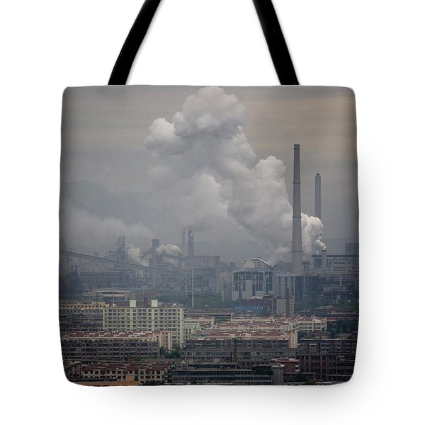Coal Fired Power Plant In China Tote Bag