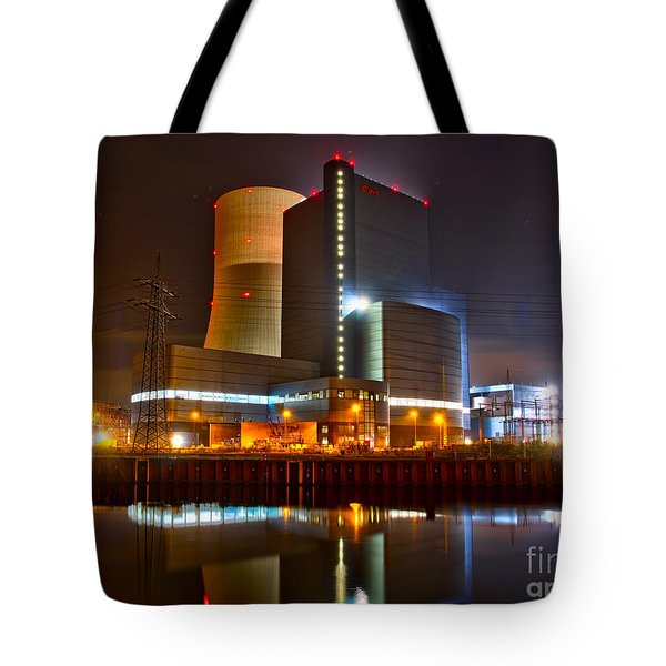 Coal Fired Powerhouse Tote Bag