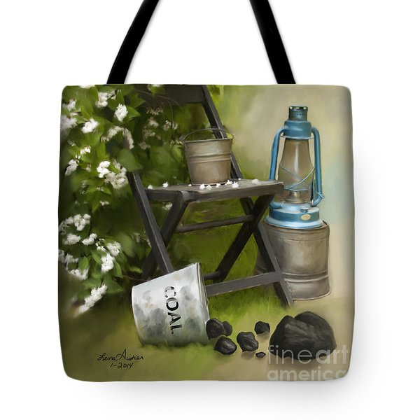 Coal Tote Bag by Lena Auxier