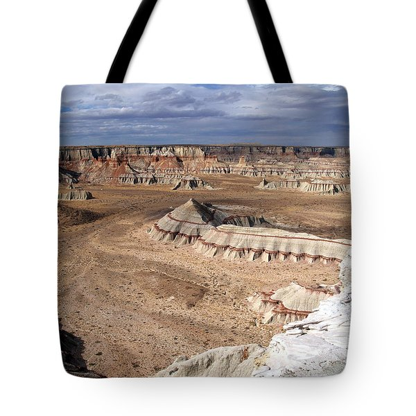 Coal Mine Mesa 11 Tote Bag by Jeff Brunton