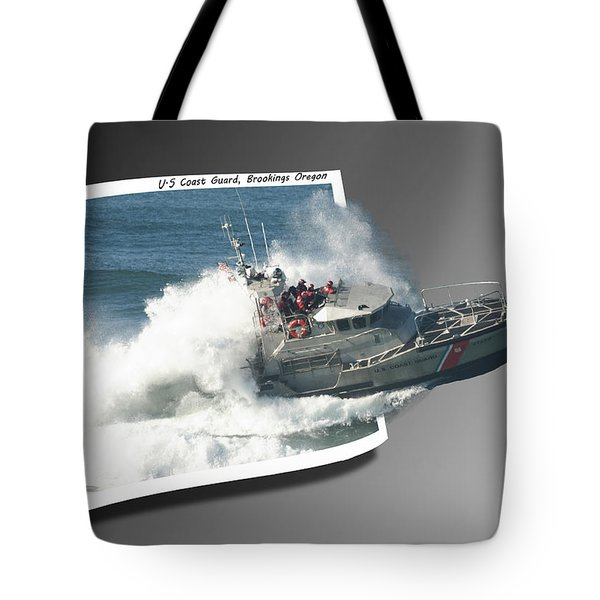 Coast Guard Tote Bag by Betty Depee