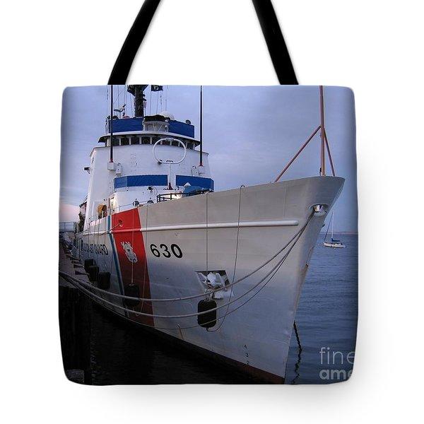 Coast Guard Cutter Alert Tote Bag