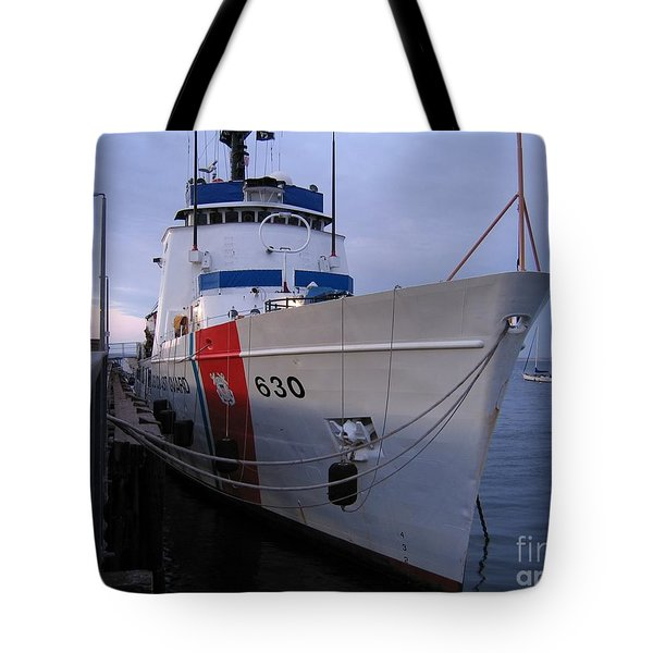 Coast Guard Cutter Alert Tote Bag