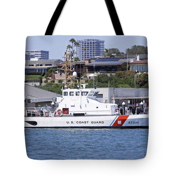 Coast Guard Tote Bag by Shoal Hollingsworth