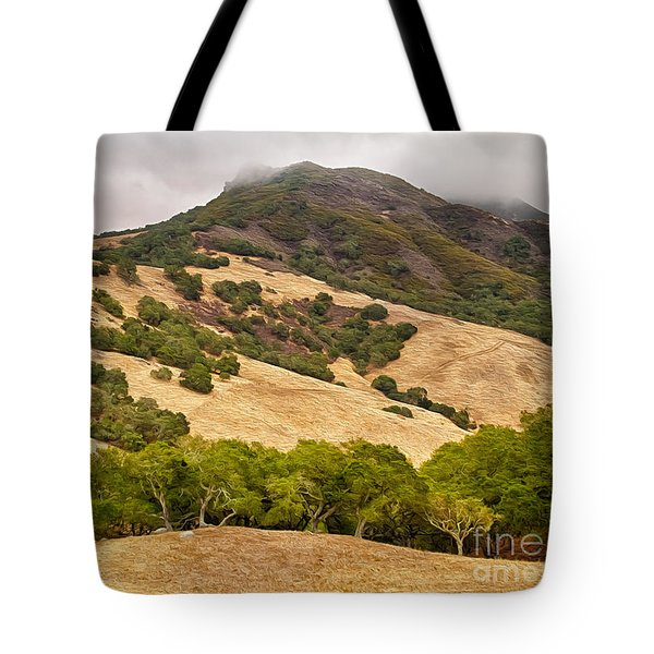 Coast Hills Tote Bag by Alice Cahill