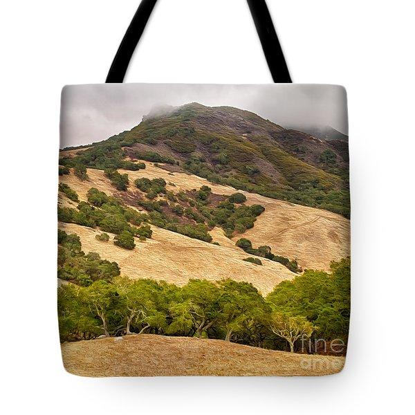 Coast Hills Tote Bag