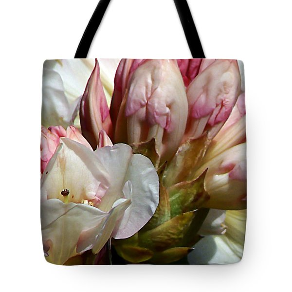 Coast Rhododendron Tote Bag