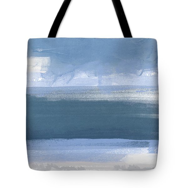 Coastal- Abstract Landscape Painting Tote Bag