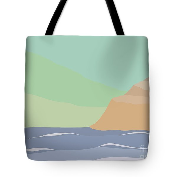 Coastal Bank Tote Bag