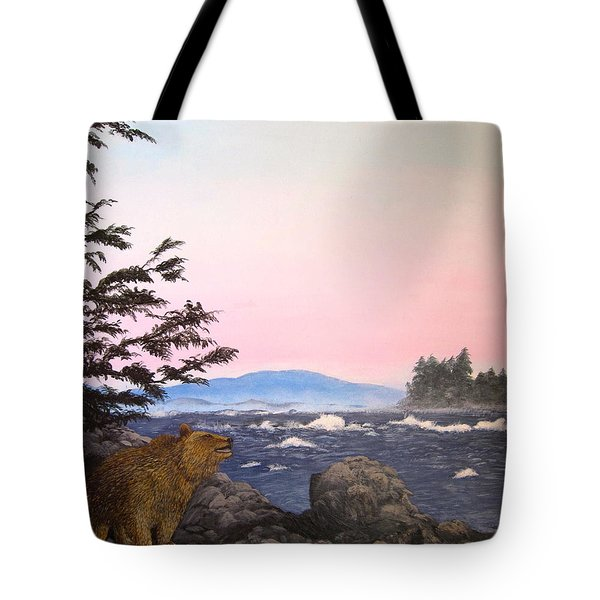 Coastal Bear Tote Bag
