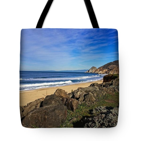 Coastal Beauty Tote Bag by Dave Files