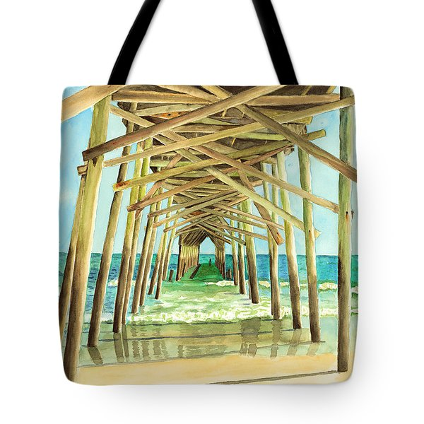 Coastal Cathedral  Tote Bag