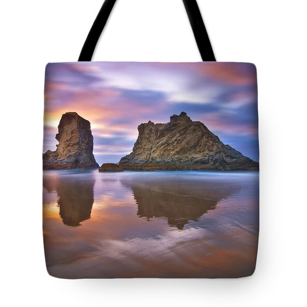 Coastal Cloud Dance Tote Bag by Darren  White