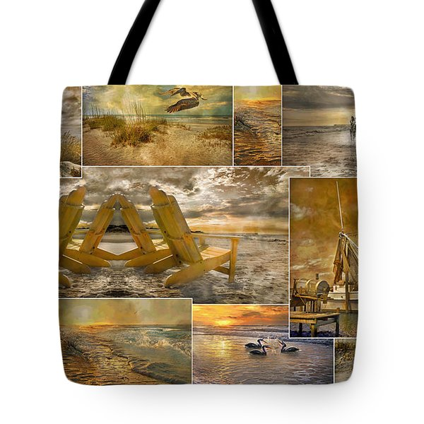 Coastal Connections Tote Bag by Betsy Knapp