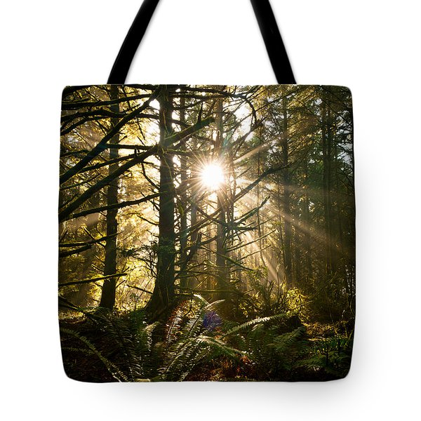 Coastal Forest Tote Bag