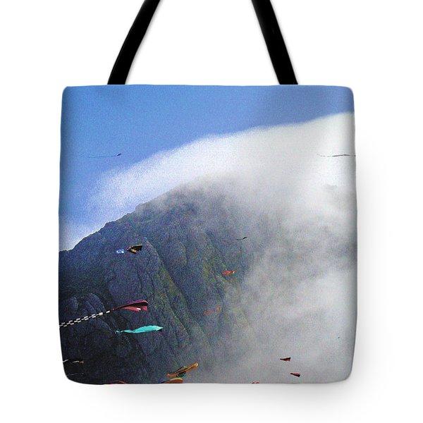 Coastal Kites Tote Bag