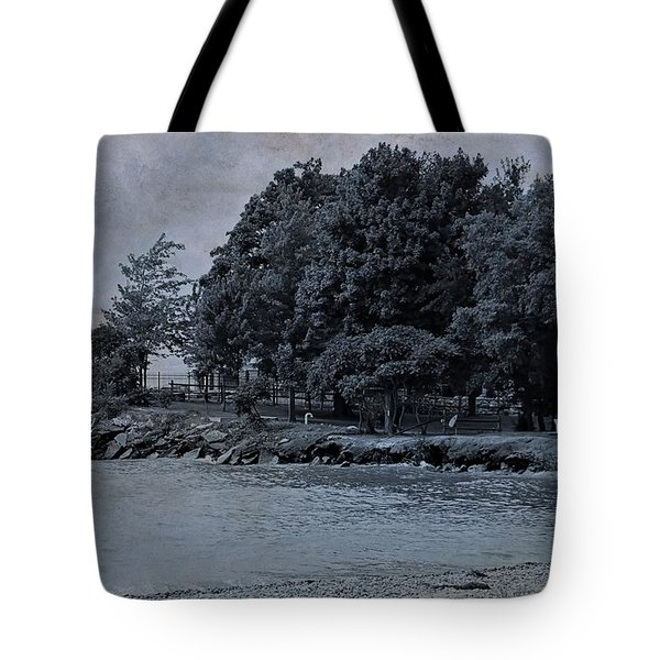 Coastal Living On Lake Erie Tote Bag by Dan Sproul