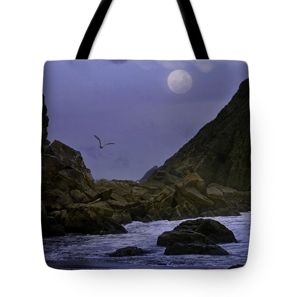 Coastal Moods Moonglo Tote Bag