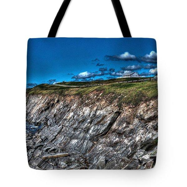 Tote Bag featuring the photograph Coastal Nova Scotia by Joe  Ng