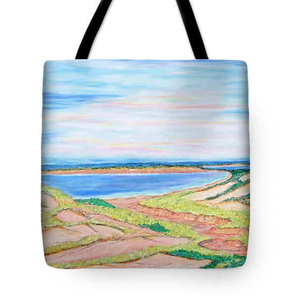 Coastal Patchwork Tote Bag