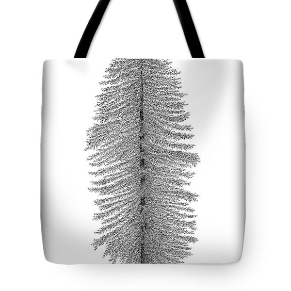 Coastal Redwood Tote Bag