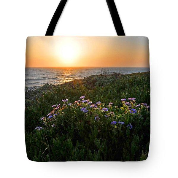 Coastal Sunset Tote Bag by Lynn Bauer