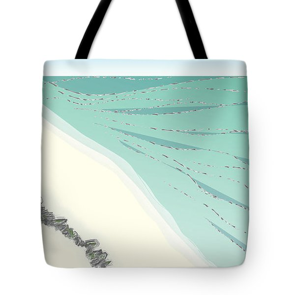 Coastal Wash Tote Bag
